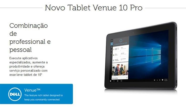 Dell Tablet Venue 10 Pro