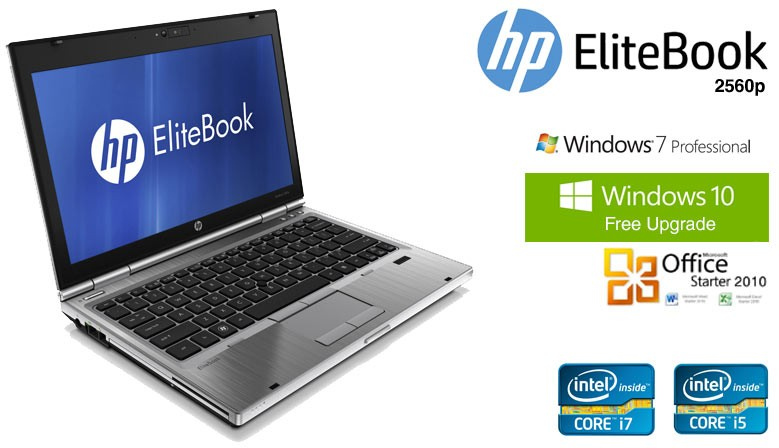 hp elitebook 2560p recondicionados com garantia