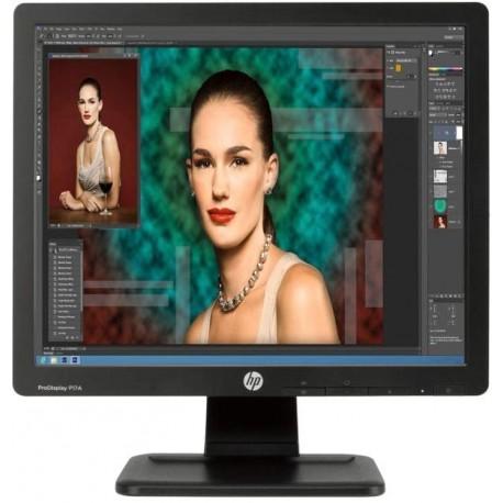 "Monitor Ecrã Plano HP Pro Display P17A -43,18cm 17"" 5:4 LED Backlit|VGA| DVI"