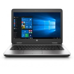 A- Portátil Empresarial HP ProBook 640 Intel Core i5-4300| Windows 10 Pro Upgrade A-