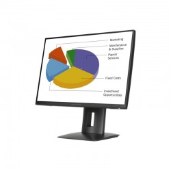 Monitor Led IPS HP Z24n| 61,13 cm (24 pol.)|Moldura Fina Full HD (1080p) HDMI|DVI-D|DisplayPort|