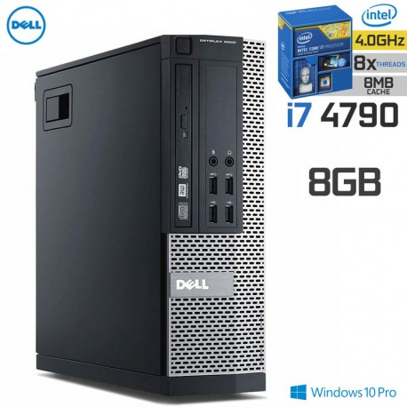 Desktop Pro Dell Optiplex 9020 | 4ª Geração| Intel i7-4790| 8GB RAM| Quad-Core Windows 10 Pro