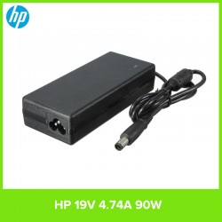 Carregador Original para Computador Portátil HP 90W Smart AC Adapter (19 V 4,74 A)