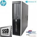 PC Desktop HP 6300 PRO Business PENTIUM G870|120 SSD| Windows 10 professional upgrade