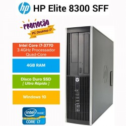 PROMO: Desktop HP 8300 PRO Elite Business| Intel QUAD CORE I7 3770|SSD| Windows 10 pro upgrade
