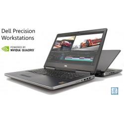 "Workstation Dell Precision 7520|15""6 FHD i7-7820HQ[Kabylake 7ª Geração]|480GB SSD|16GB DDR4|[Nvidia Quadro M2200M-4GB] Win 10Pro"