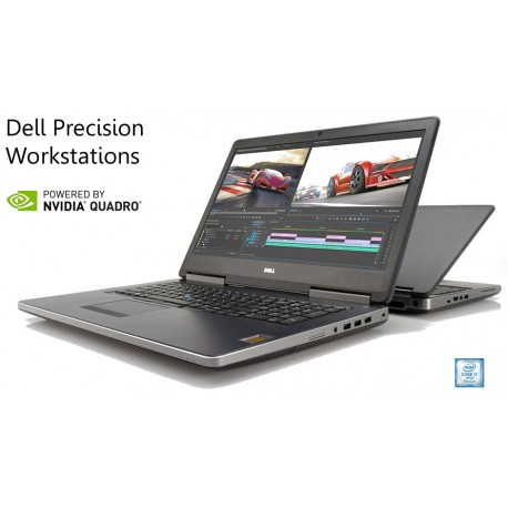 "Workstation Dell Precision 7520|15""6 FHD i7-7820HQ[Kabylake 7ª Geração]