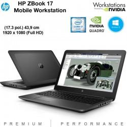 """Workstation portátil HP ZBook 17"""" Full HD Quad Core i7-4700MQ [ 16 GB RAM ] [QUADRO K3100M -4GB] Windows 10 Pro up"""