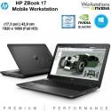 """Workstation portátil HP ZBook 17"""" Full HD Quad Core i7-4810MQ [20 GB RAM ] [QUADRO K3100M -4GB] Windows 10 Pro"""