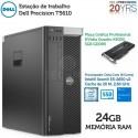 Estação de trabalho Dell Precision T5610 Xeon E5-2650 V2 [24GB RAM] [QUADRO K4000 - 3 GB] [ 240GB SSD ] Windows 10 Pro upgrade