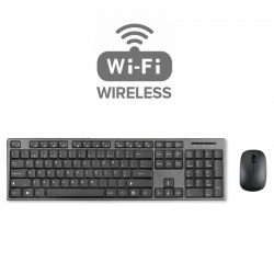 KIT WIRELESS RATO + TECLADO PT ( Wireless 2,4GHz )