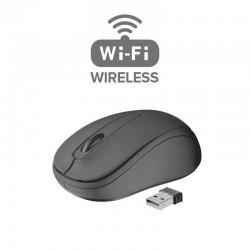 Rato óptico Wireless (sem fios) com 3 botões NOVO