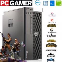 PC Gaming Dell Precision Hexa Core Intel Xeon E5-1650v2 [240SSD+500HDD]16GB-RAM]NVIDIA GeForce GT1030-2GB|Win 10Pro upgrade