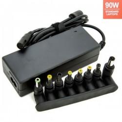 Carregador de portátil universal 90W com 9 conectores