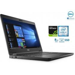 Portátil Premium DELL Latitude E5480| i7-6600U (6ª Geração)| 240GB SSD| [8GB DDR4] Nvidia GeForce 930MX (2 GB) Windows 10