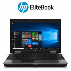 "Portátil HP Elitebook 8540P| 15,6"" Polegadas HD| Intel Core i5-520M| Windows 10 Pro Upgrade"