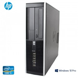 PC Desktop HP Compaq 6200 Elite Pro Series Core i3 Windows 10 Pro upgrade
