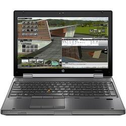 Workstation HP Elitebook 8570W 15.6 FHD|Intel Core I7-3520M [QUADRO K1000M -2GB] 8GB RAM|Webcam USB|Win10 Pro upgrade