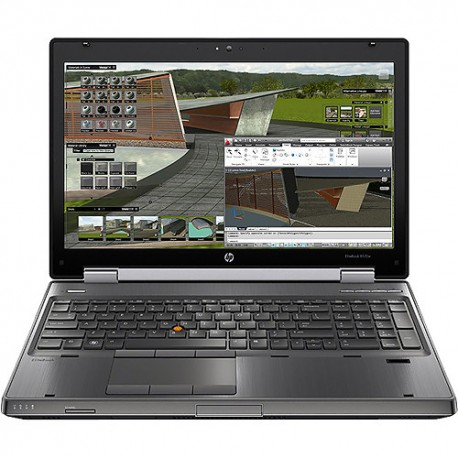 Portatil HP Elitebook 8570W I7-3740QM [QUADRO K1000M -2GB] 15.6 HD+ MOBILE WORKSTATION- 8GB RAM - Windows 10 Pro upgrade