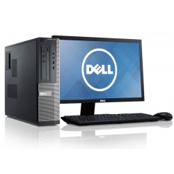 PC Completo com Monitor Dell Optiplex 790 Intel Pentium G630 + Monitor Wide 20 Polegadas Windows 10 profissional upgrade