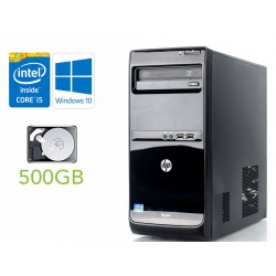 Desktop HP Pro 3500 Microtower Intel Core i5 3470 Windows 10 professional