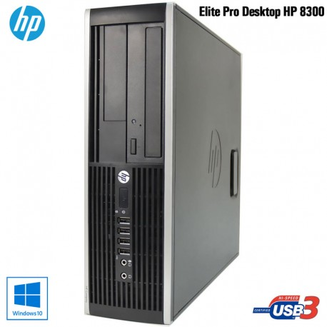 PC Desktop HP 8300 PRO Business Intel QUAD CORE I7 3770 / 8GB RAM Windows 10