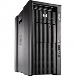 Workstation HP Z800 Tower HEXA CORE Intel Xeon [Nvidia Quadro 600] Windows 10 Professional upgrade
