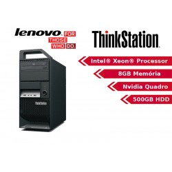 Lenovo ThinkStation E30 Workstation Tower Quad Core Intel Xeon E3-1225 Windows 10 Pro upgrade