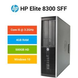 PC Desktop HP 8300 Elite Business Intel QUAD CORE I5-3470 Windows 10 pro upgrade