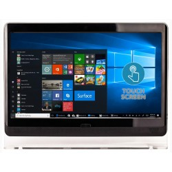 "Económico PC ALL-In-One 21.5"" FHD [Touchscreen - Ecrã Táctil] - Intel G530 - Windows 10 Home"