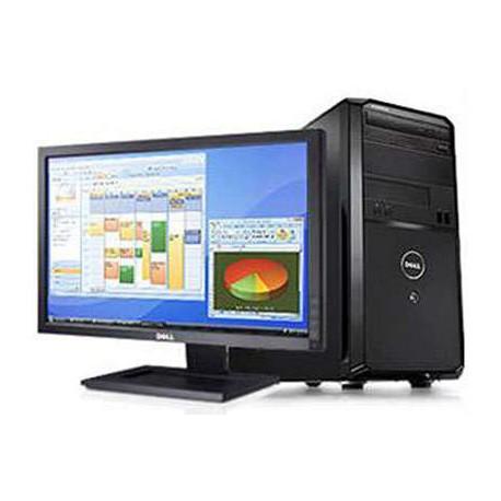 """PC Completo com Monitor Dell Vostro 260 + Ecrã Widescreen HD 22"""" Windows 10 Upgrade"""