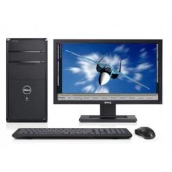"""PC Completo c/Monitor Dell Vostro 470 Intel Core i5-3450 + Ecrã Widescreen HD 19"""" Windows 10 Pro Upgrade"""