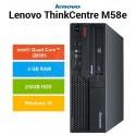 PC Lenovo Thinkcentre M58E Intel QUAD CORE Q9505 Windows 10 Pro upgrade