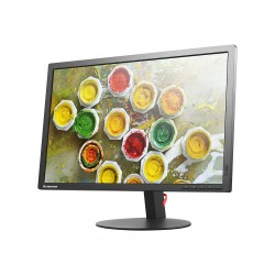 "Monitor profissional Lenovo ThinkVision 24"" Wide FHD (1080p) IPS, HDMI, VGA, DisplayPort"