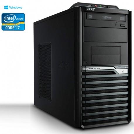 PC Desktop Acer VERITON Intel Core I7 3770 Windows 10 Pro upgrade