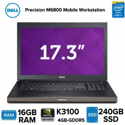 "Workstation Móvel 17"" Dell Precision M6800 