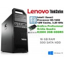 Lenovo ThinkStation S30 Workstation Hexa-Core Intel Xeon E5-1650 [16GB RAM] [QUADRO K2000 - 2 GB] Windows 10 Pro upgrade