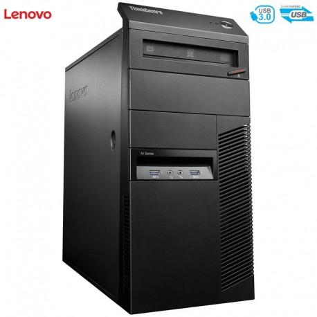 PC Avançado Lenovo Thinkcentre M93 Tower Quad Core i7-4770 (4ª Geração) Windows 10 Professional upgrade