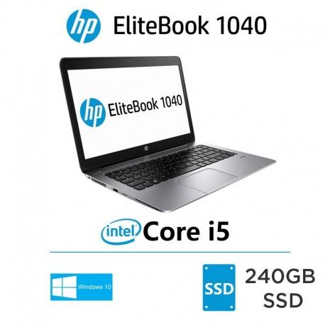 ULTRABOOK HP Elitebook Folio 1040  i5-5300U 5.ª Geração 240SSD  Windows 10 pro upgrade