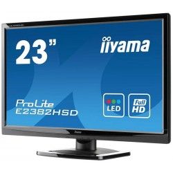 "Monitor 58,4 cm (23"") LED IIYAMA Widescreen 1080p Full HD (VGA|DVI|COLUNAS|VESA)"