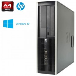 HP 6305 Pro Series DUAL CORE AMD A4 5300B 3.4GHz - Radeon HD 7480D Windows 10 pro upgrade