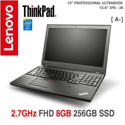 [GRAU A- ] PROFESSIONAL ULTRABOOK Thinkpad T550|FHD++ (2880 x 1620)( IPS- 3K )|Core i7 5600U|8GB| 256GB SSD Win 10 Pro [ A- ]