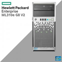Servidor HP ProLiant ML310e Generation 8 (Gen8) v2 QUAD CORE Intel XEON E3-1241 v3