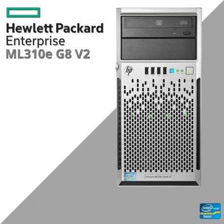 Servidor HP ProLiant ML310e Generation 8 (Gen8) v2 QUAD CORE Intel XEON E3-1241 v3