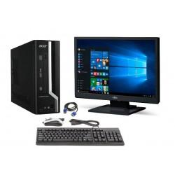 """PC Completo HP 6200 Pro + Monitor LCD 19"""" ecrã plano Windows 7"""