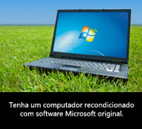 recondicionado com software microsoft