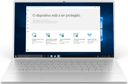 Antivírus do Windows Defender