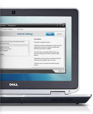 Computador portátil Dell Latitude E6320 - Segurança fiável