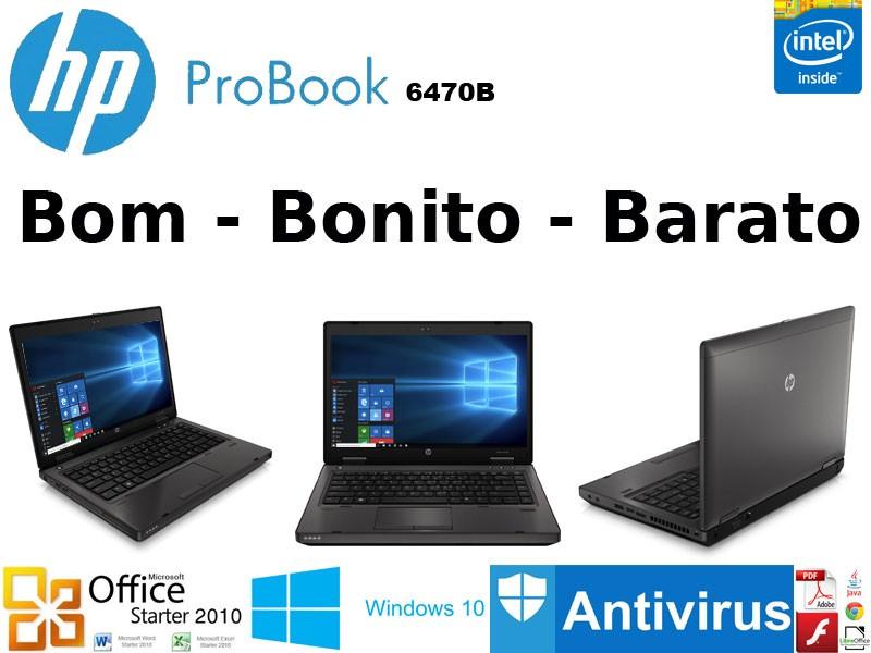 Portatil HP Probook 6470b INTEL B840 Windows 10 PT recondicionado c/garantia