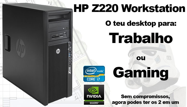 Hp Z220 Work and Gamer